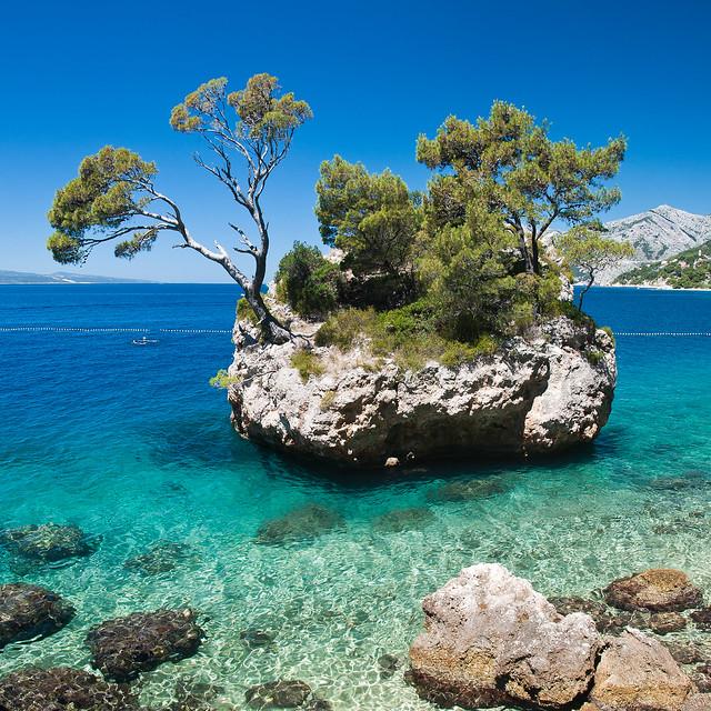 Kamen Brela, Brela, Dalmatian Coast, Croatia