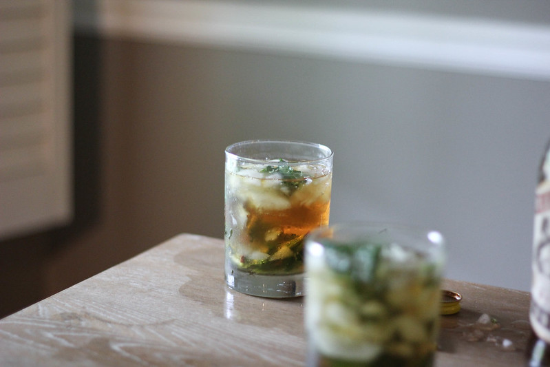 Cane Syrup Mint Julep
