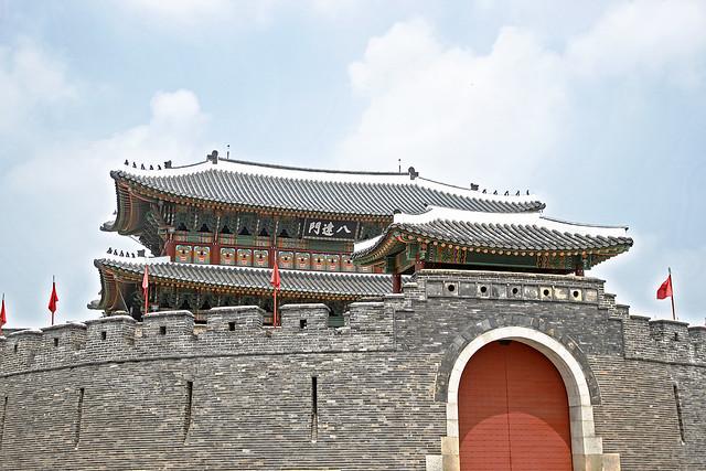 Paldalmun in the Suwon Castle Area