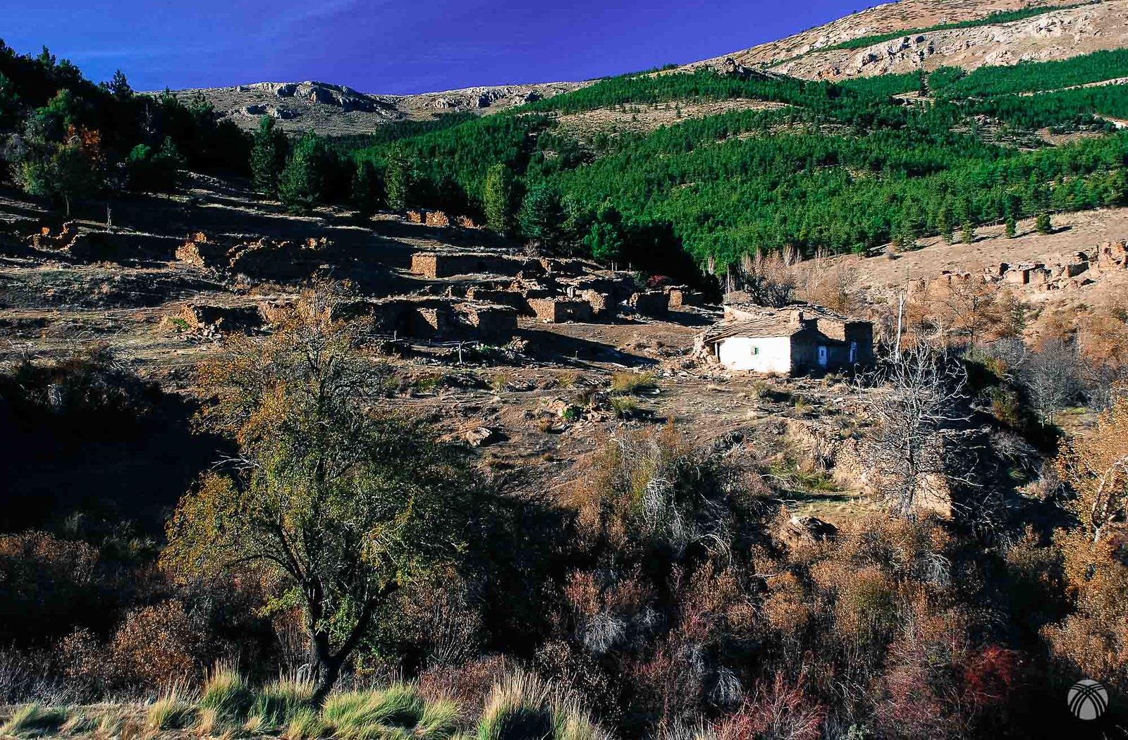 Las casas de Santa Olaya