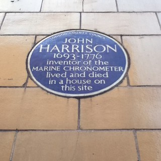 Immagine di Blue Plaque - John Harrison. blueplaque longitude carpenter clockmaker redlionsquare johnharrison marinechronometer
