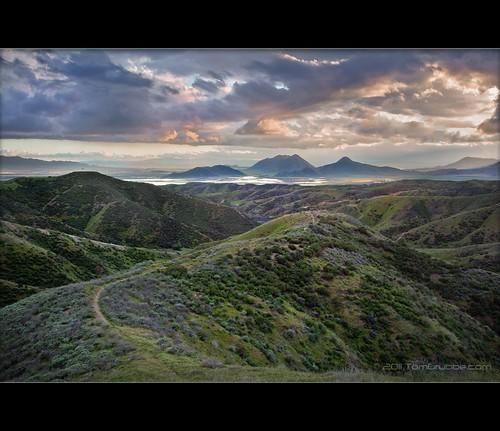 california sky storm clouds landscape spring hills badlands morenovalley jackrabbittrail