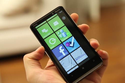 HTC HD7 8