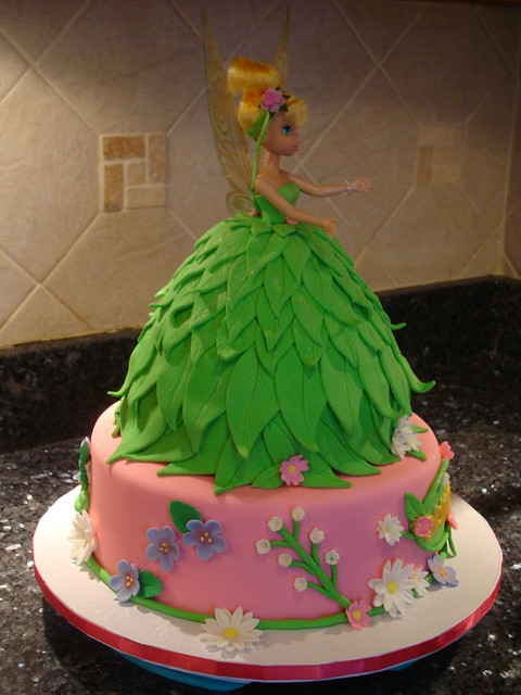 Tinkerbell Doll Cake Flickr - Photo Sharing!