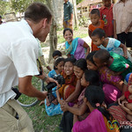 Having Fun with the Kids of the Garo Village - Srimongal, Bangladesh