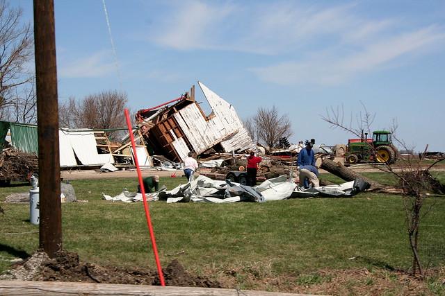 Fonda tornado damage #2