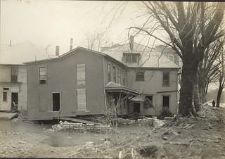 Flood Scenes, Dayton, OH - 1913 Flood