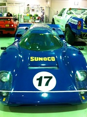 race car(1.0), automobile(1.0), porsche 910(1.0), porsche 907(1.0), vehicle(1.0), automotive design(1.0), sports prototype(1.0), porsche 906(1.0), land vehicle(1.0), supercar(1.0), sports car(1.0),