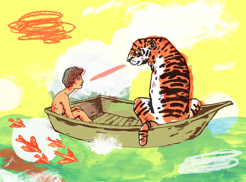 Niv bavarsky sketchbook drawings life of pi for Life of pi characterization