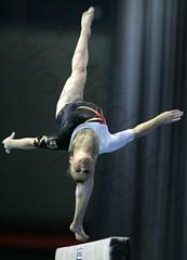 uneven bars(0.0), rings(0.0), balance beam(1.0), arm(1.0), sports(1.0), gymnastics(1.0), gymnast(1.0), artistic gymnastics(1.0), acrobatics(1.0),