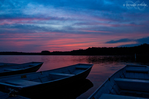 blue sunset canon boats evening lakecrabtree t1i momentumcontestfreshwater