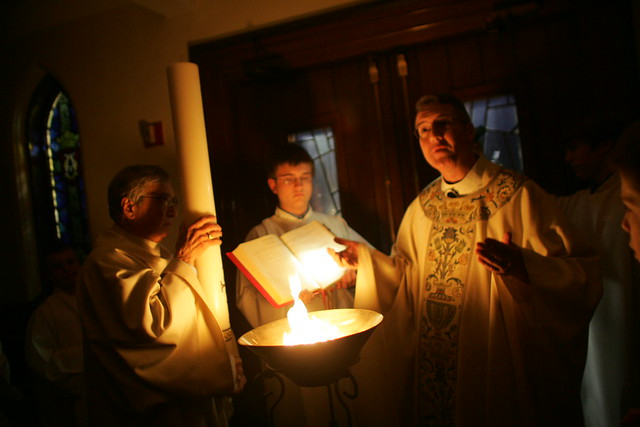 Easter Vigil - St. Mary's, Holliston