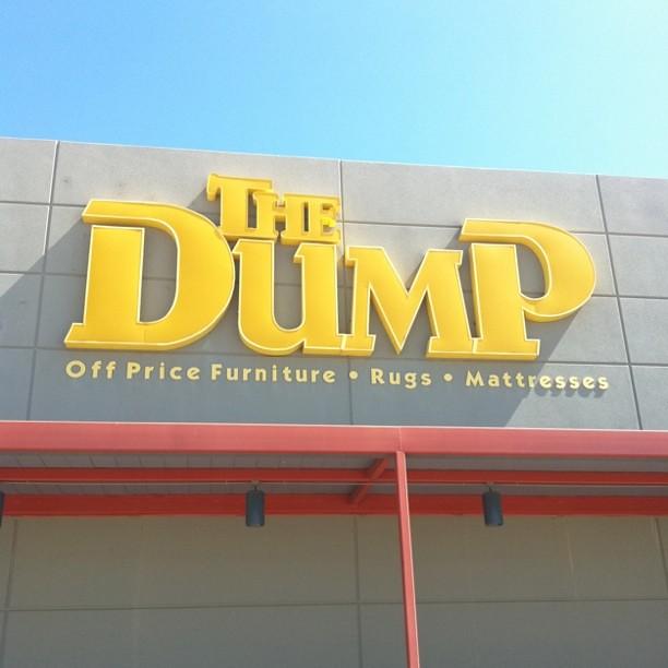 The Dump Furniture Store in Dallas Texas