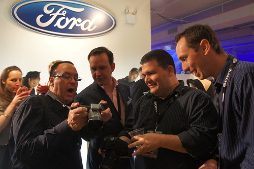 Behind the scenes with Ford at the NY Auto Show
