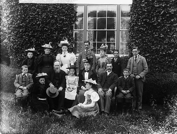 The church choir, Llansannan (1897)