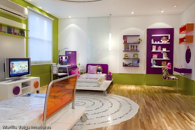 decoracao de interiores quartos de dormir:decoracao-de-interiores-quarto-criança-1
