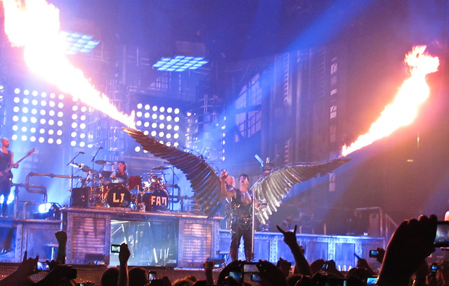 rammstein concert in new york flickr photo sharing. Black Bedroom Furniture Sets. Home Design Ideas