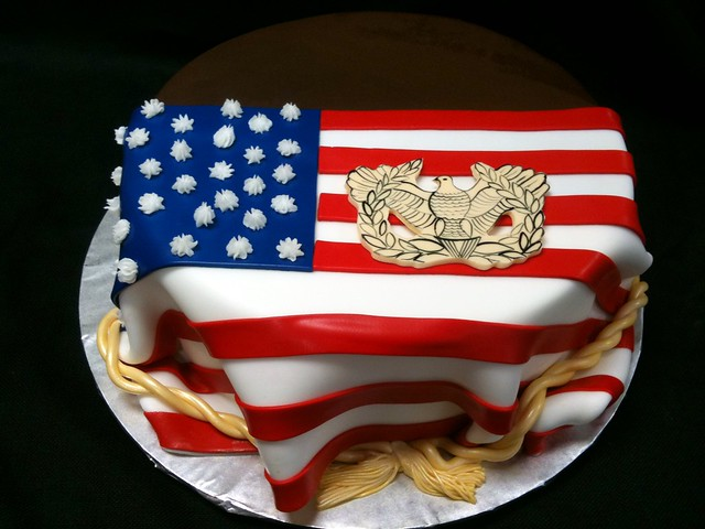 american-flag-cake | Flickr - Photo Sharing!