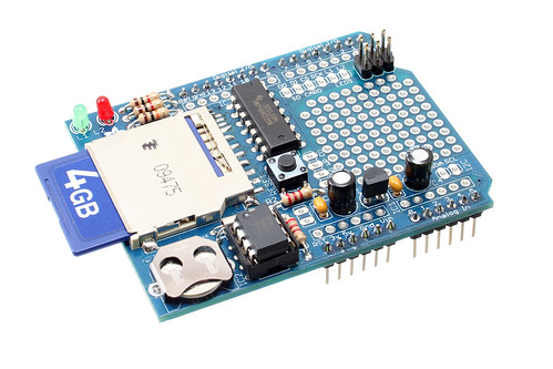 New product data logging shield for arduino