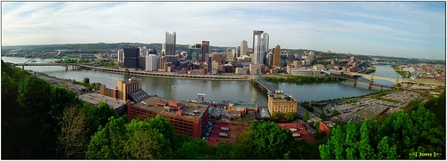 panorama pittsburgh cityscape pennsylvania overlooking stitched hs10 hs11 pnsers