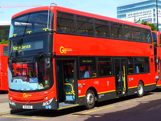 Go Ahead London: VM1 MCV Double Decker Volvo