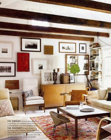 Vintage Modern Living Room : Nan Whitney {rustic vintage modern living room}  Flickr - Photo ...