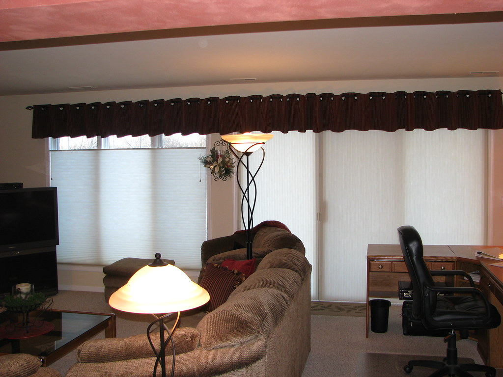 Valance & Duette Honeycomb Shades