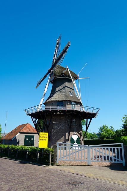 Windlust - Mill - Noordwolde - Friesland