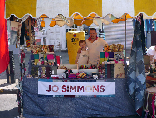 My stall at The Cally Fest