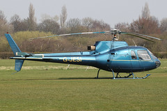 G-JESI - 1980 build Aerospatiale AS350B Squirrel, visiting Barton