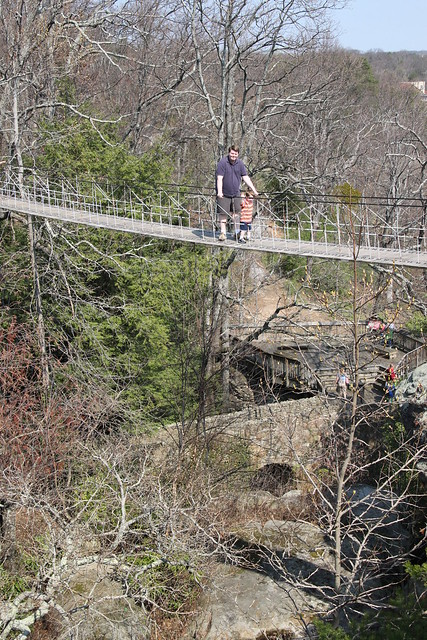 rock city chattanooga tn rope bridge