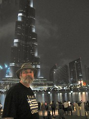 In front of Burj Dubai