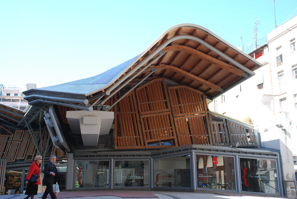 Santa Caterina Market (and the wavy roof)