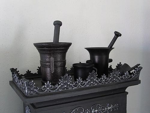 Iron stove