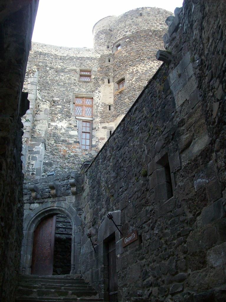 Interior del Castillo de Murol