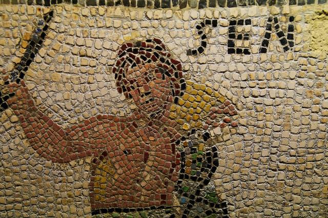 Mosaique Gallo Romaine Mus 233 E De La Cour D Or Metz