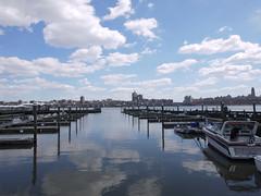 日, 2011-04-03 13:34 - George Washington Bridge から Hoboken までハドソン川沿いをサイクリング