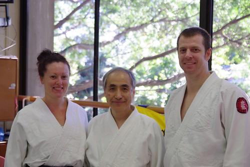 Julie, Shuji & James