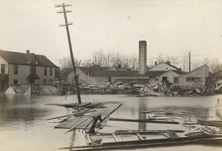 Lehman Street, Dayton, OH - 1913 Flood