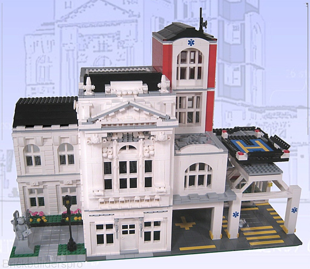 Lego City Modular Hospital