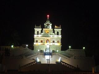 Panaji Church, Goa - India.