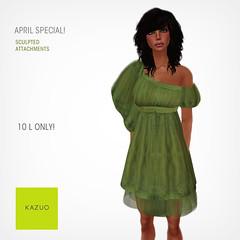 Kazuo - April Special Promo
