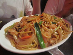 yaki udon(0.0), pad thai(0.0), chow mein(0.0), noodle(1.0), mie goreng(1.0), fried noodles(1.0), lo mein(1.0), noodle soup(1.0), pancit(1.0), spaghetti(1.0), hokkien mee(1.0), char kway teow(1.0), naporitan(1.0), food(1.0), dish(1.0), yakisoba(1.0), chinese noodles(1.0), southeast asian food(1.0), cuisine(1.0),