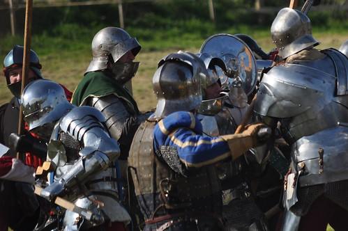 towton battle re-enactment