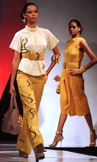 EA Regional Cotton Fashion Show, Design by Clarke