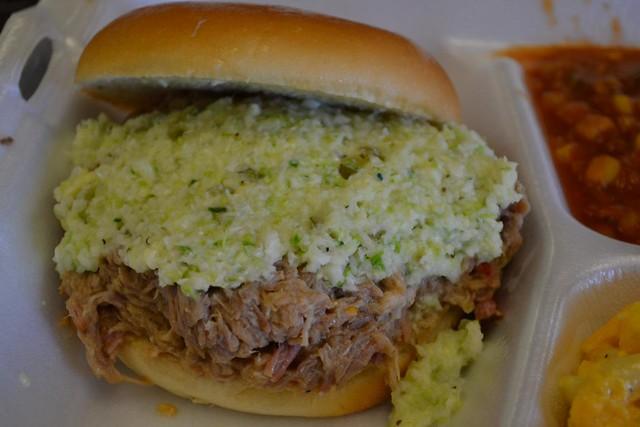 epic bbq pork sandwich backyard bbq pit durham flickr photo
