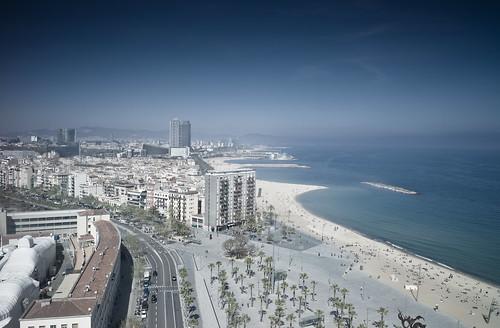 BCN: Barceloneta beach