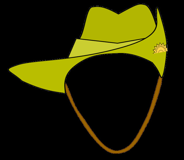 Army Clipart Digger Anzac Army Hat Clipart