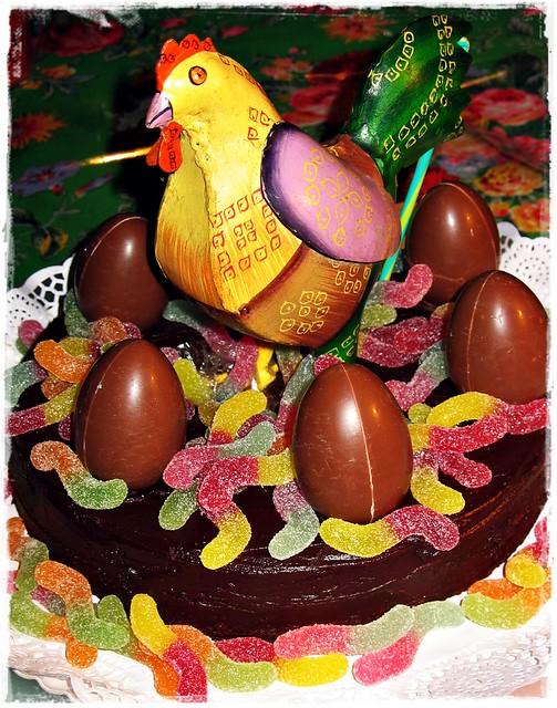 Lunes de Pascua... la mona de mi chico :-))