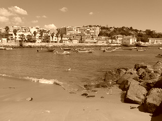 Image of Praia Velha near Paço de Arcos. portugal páscoa paçodearcos